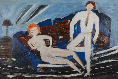 Leon Rooke. Painting - Casanova