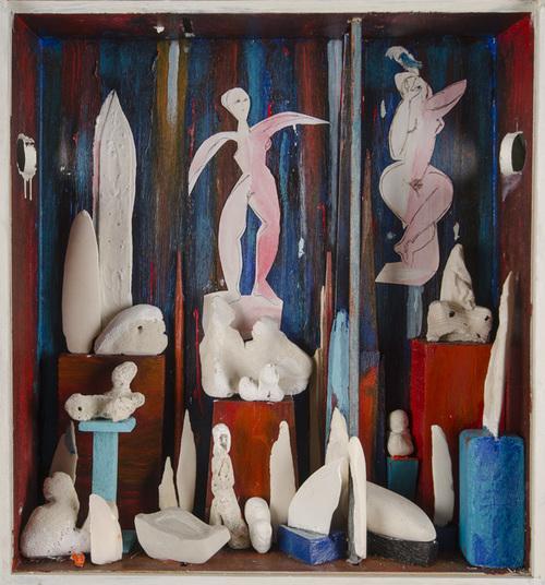 Leon Rooke. Painting - Cubita