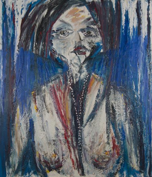 Leon Rooke. Painting - F M